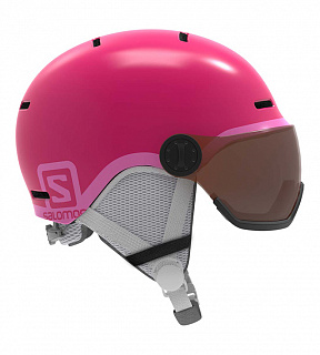 Grom Visor Glossy Pink/Univers
